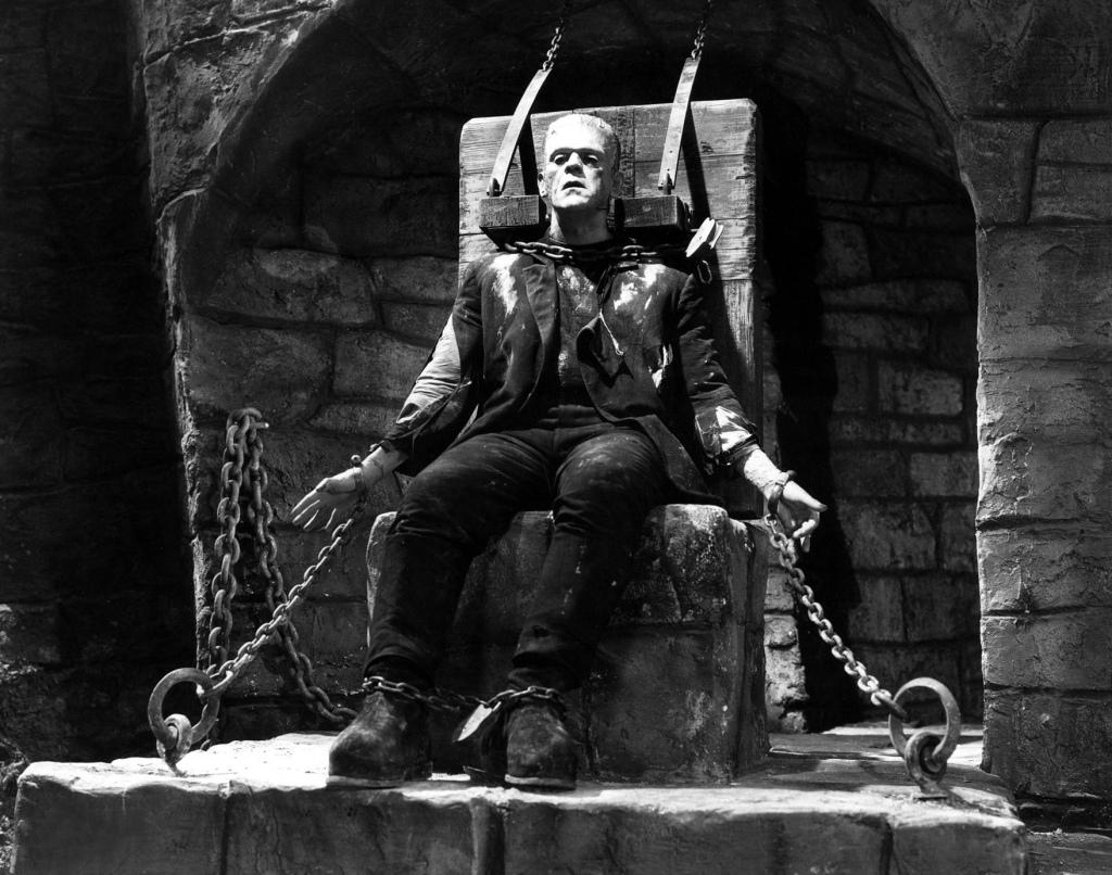 Frankenstein-boris-karlof-em-A-Noiva-de-Frank