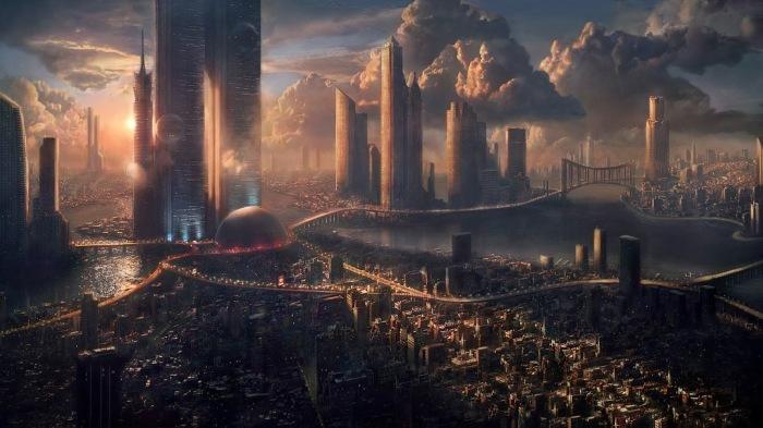 Sci-Fi-Wallpaper